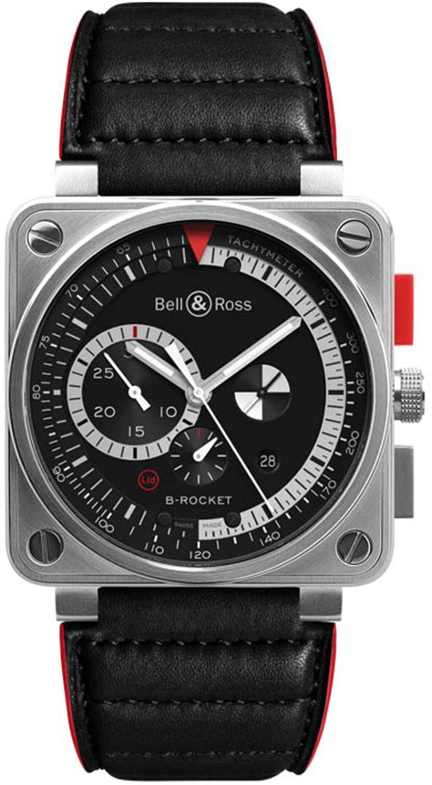 Bell Rocket Silver br0194 b rocket bell ross authenticwatches