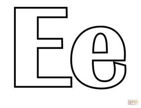 letter e coloring page classic letter e coloring page free printable coloring pages