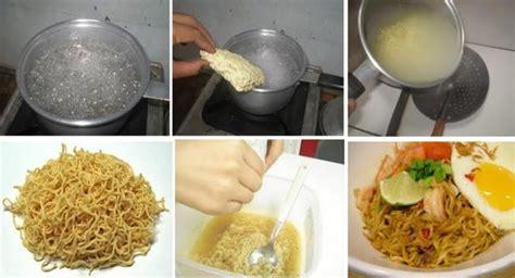 cara membuat mie sendiri yang sehat santap mie instan yang sehat hati senang perut kenyang