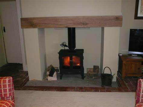 Oak fireplace mantels fitted