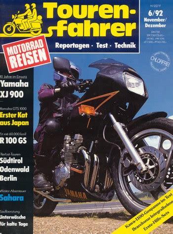 Motorradreisen Zeitschrift by Motorradzeitungen Testberichte Gebrauchte