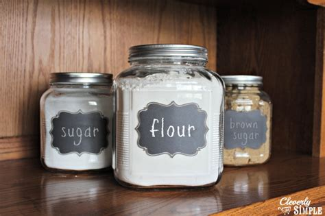 flour storage ideas diy gift idea flour and sugar storage containers