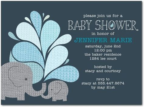 Elephant Themes Baby Shower Ideas Free Printable Baby Shower Invitations Templates Elephant Baby Shower Invitations Templates