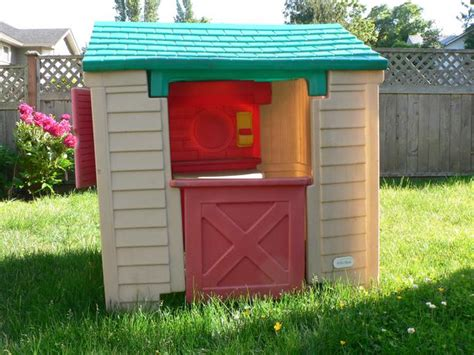 tikes house tikes playhouse club house saanich