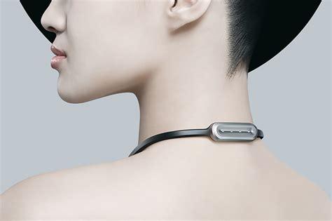 designboom wearable veari presents fineck smart wearable device for neck health
