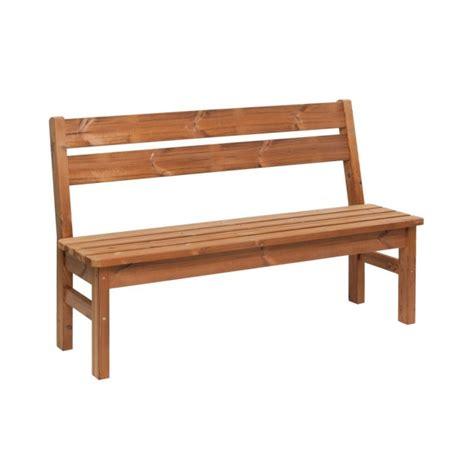 panca legno giardino panca da giardino in legno thermowood 145 x 40 x 45 cm