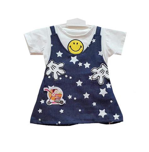 Pakaian Wanita 8a Harga Baju Murah jual baju bayi dress anak vinata dev vo smile denim