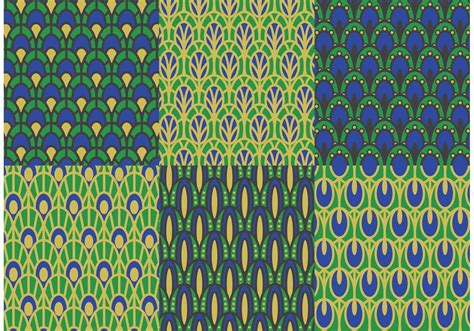 vector background pattern pack peacock pattern vector pack download free vector art