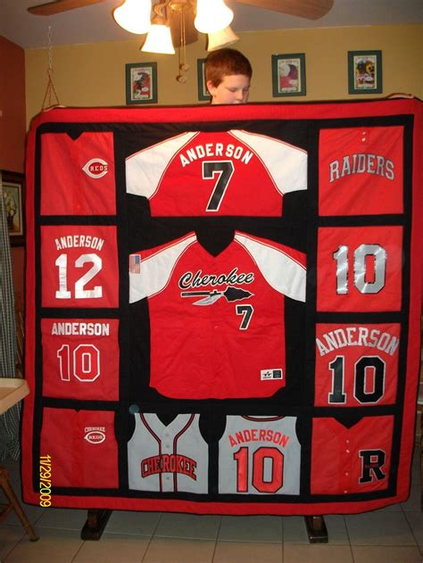 Quilts Made From Sports Jerseys by 25 Best Ideas About Sports Quilts On Baby