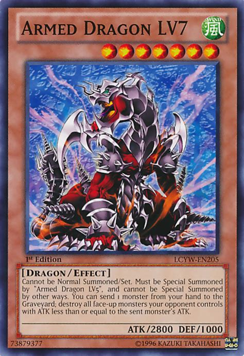 Kartu Yugioh Armed Lv5 Common 1 how to summon an armed dragn lv5 in yu gi oh