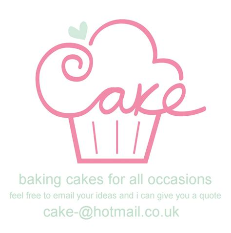 design company logo new cake logo from the beginning cake logo business