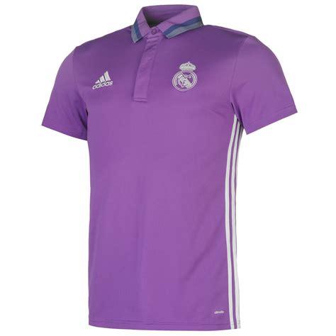 Polo Shirt Real Madrid 8 Oceanseven adidas real madrid polo shirt mens purple football soccer