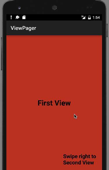 android viewpager exle android viewpager exle tutorial journaldev