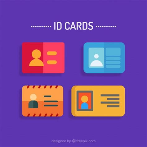 personal id card template personal identification vectors photos and psd files