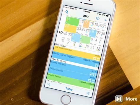 weekflow calendar  iphone review  colors grids  gestures   organize
