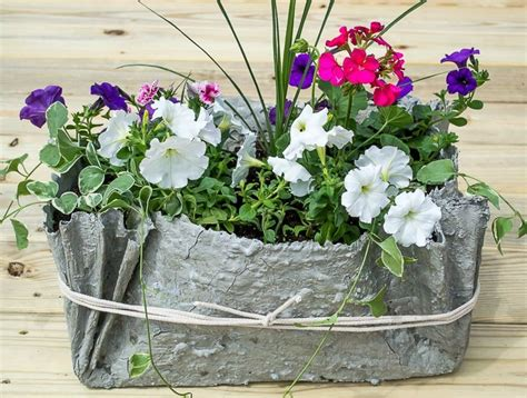how to make cement planters how to make a cement cloth planter in no time page 2 of 2