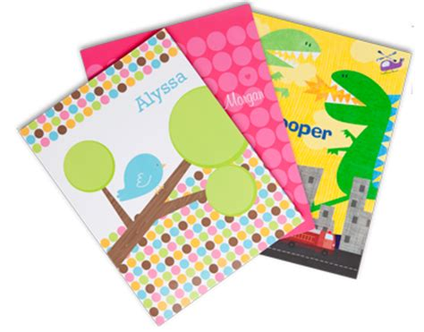 How To Make A Paper Folder For School - custom school folders for frecklebox products