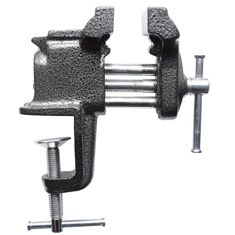 bessey bench vise bessey 3 in cl on vise bv co30 the home depot