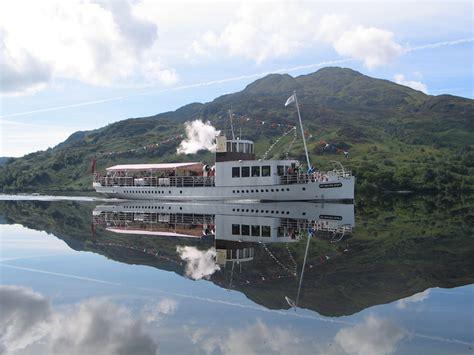 sir walter scott boat loch katrine a cruise on loch katrine crsc clyde river steamer club
