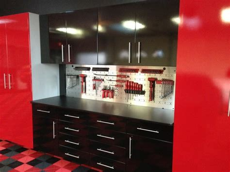 Premier Garage Cabinets by High Gloss Garage Cabinets Garage And