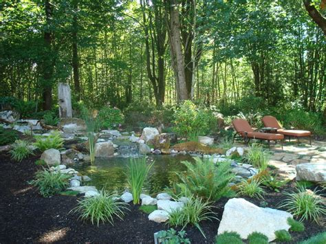 Landscape Design Woodland Ca Woodland Patio Water Feature Rustic Landscape