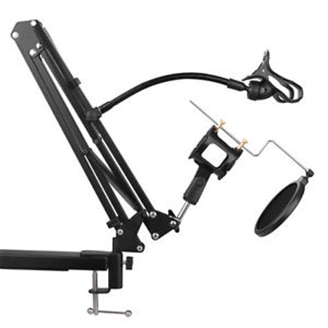 Xs Mini Tripod Support Desktop Windscreen Filter For Microphone musical instruments for all stands mounts and holders