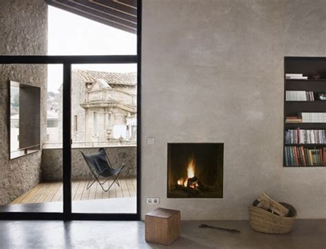 Rustic Modern Fireplace by Cool Fireplace Rustic Modern Interiors