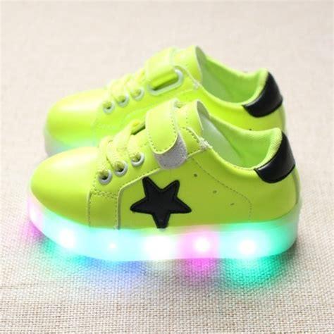 Sepatu Sport Led Fr171 led leuchtende schuhe kinder m 228 dchen jungen sneakers blinkschuhe sportschuhe ebay