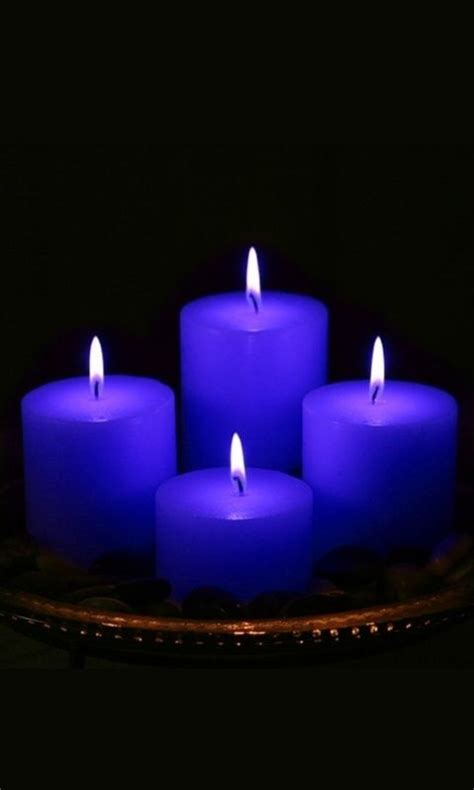 Blue Candles 17 Best Ideas About Blue Candles On Blue
