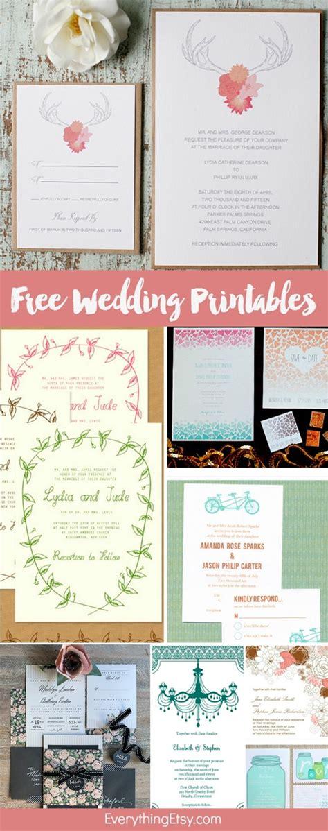 diy wedding printables free free wedding printables diy invitations