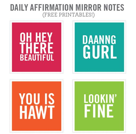 printable affirmations quotes printable affirmations quotes quotesgram