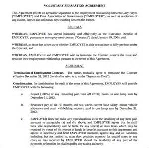 Marital Separation Agreement Template sample separation agreement 6 documents in pdf word