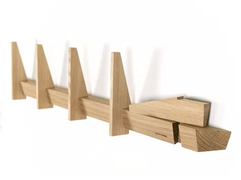 simple coat rack simple coat racks made in oak wood from hjuler design