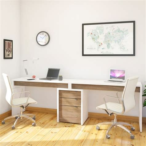 2 Person Desk Ideas 25 Best Two Person Desk Ideas On Pinterest 2 Person Desk Home Office Desks Ideas And Home Desks