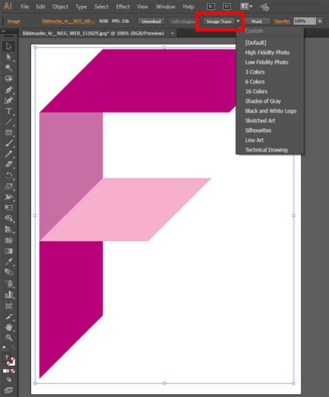 pattern from illustrator to indesign tutorial converting pixel images into vector graphics