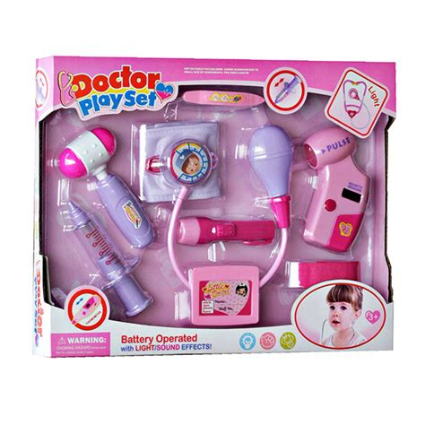 Mainan Doctor Play Set Biru by Doctor Play Set Pink Blue 6012a Mainan Dokter