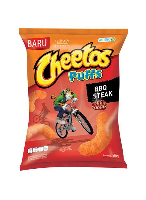 cheetos puffs steak bbq 60g cheetos snack puffs bbq steak pck 60g klikindomaret