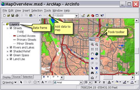 arcgis layout view scale arcgis desktop help 9 3 mapping and visualization in arcmap
