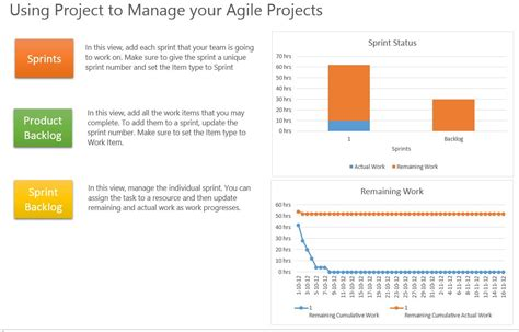 delivering agile projects using ms project server project online