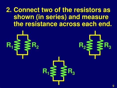 2 resistors in series ppt investigation ohms resistances in series and parallel powerpoint presentation id 502754