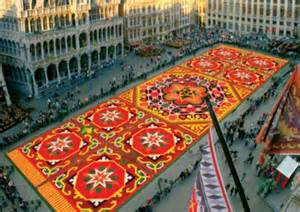 Flower Carpet Bon Bon Atelier Brussels Flower Carpet