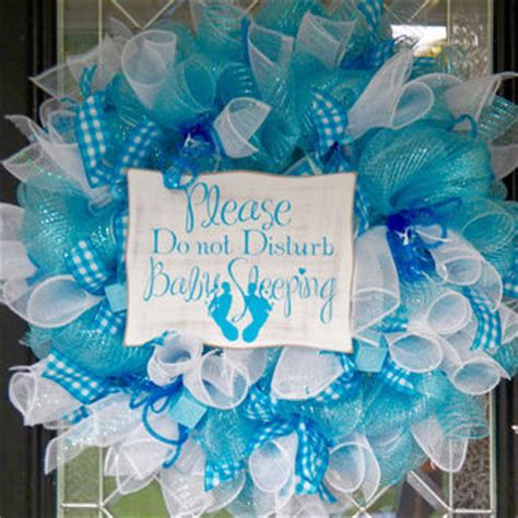Mustache Home Decor it s a boy welcoming wreath baby from occasionsboutique