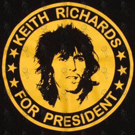Kaos Kece Keith Richards For President 1 rolling stones the navy blue keith richards for president t shirt clothing shirts