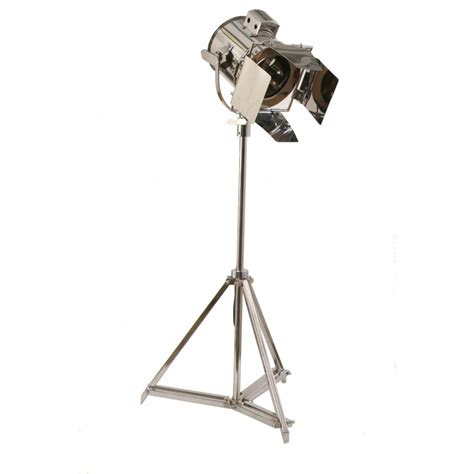 buy libra steel studio spotlight floor lamp  fusion living