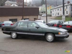 1996 Cadillac Sedan Polo Green Metallic 1996 Cadillac Sedan Exterior