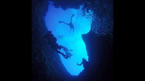 blue dive diving blue guam
