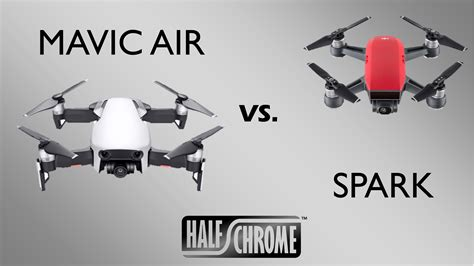 dji mavic air vs the spark battle of the compact quads
