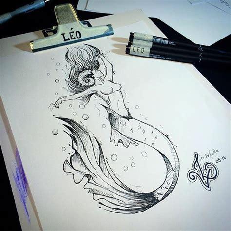 desenho sereia 25 melhores ideias sobre arte de sereia no