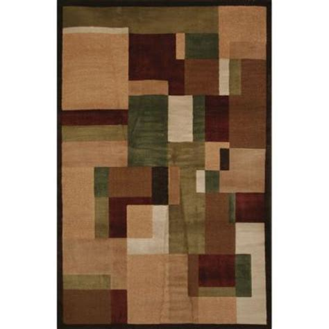 mohawk rugs discontinued mohawk home timmins medium brown 8 ft x 10 ft area rug discontinued 224615 the home depot