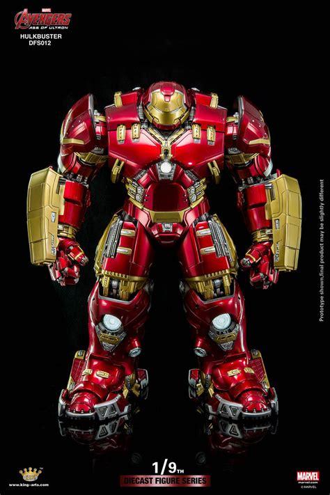 King Arts 19 Iron Helmet Series 4 Original king arts 1 9 hulkbuster has room for an iron figure iron matryoshka technabob
